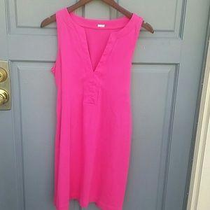 J. Crew Pink Cotton dress